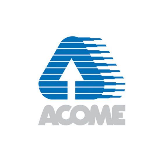 Logo Acome, client de l'agence Alure Communication