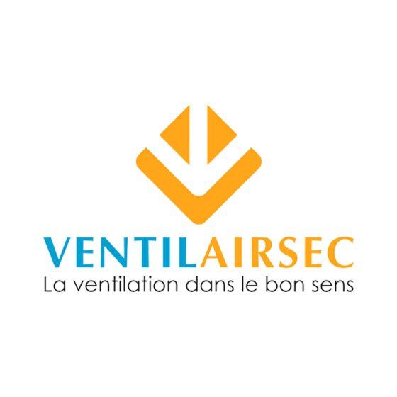 Logo Ventilairsec, client de l'agence Alure Communication