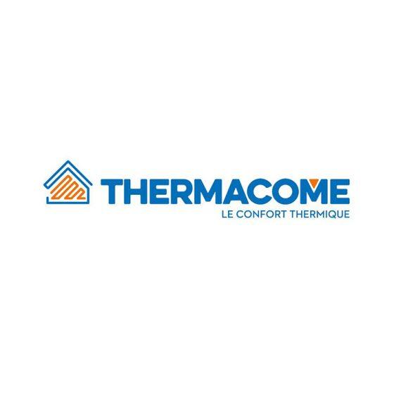 Logo Thermacome, client de l'agence Alure Communication