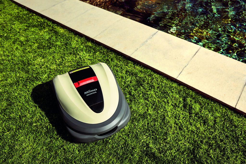 la tondeuse robot miimo 3000 de honda alure communication. Black Bedroom Furniture Sets. Home Design Ideas