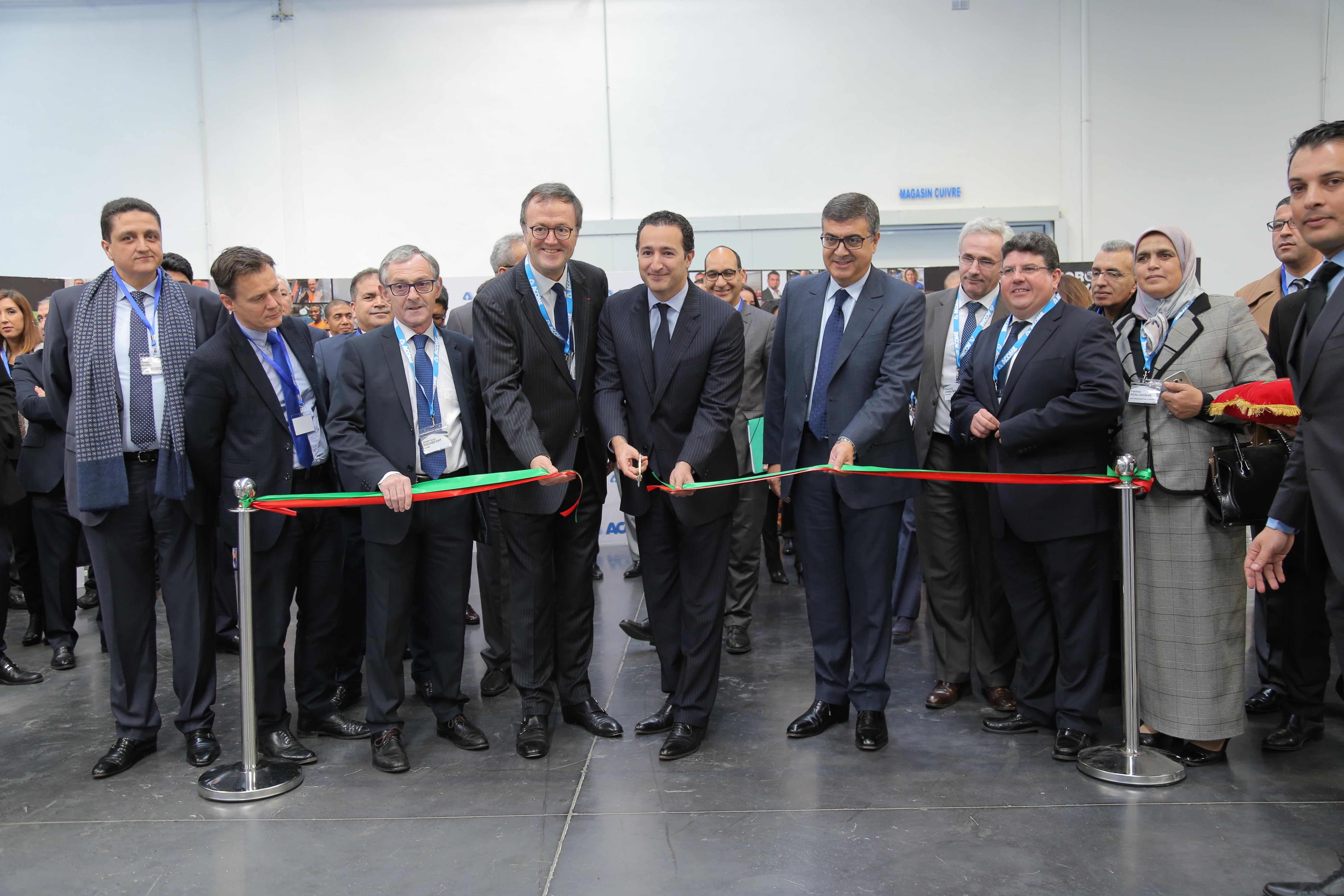 Acome Inauguration usine Maroc