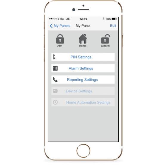 application elkron urmet iphone